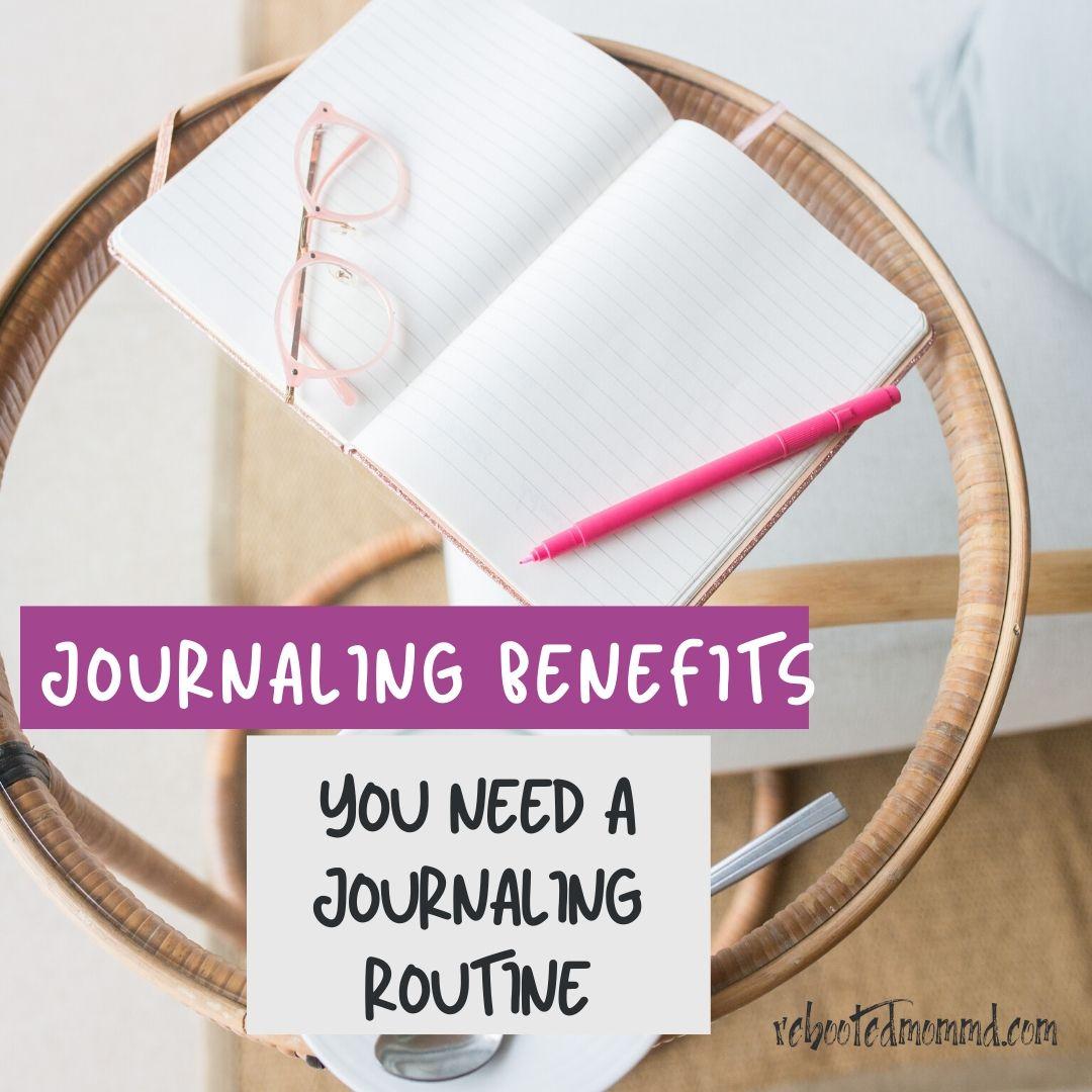 journaling routine