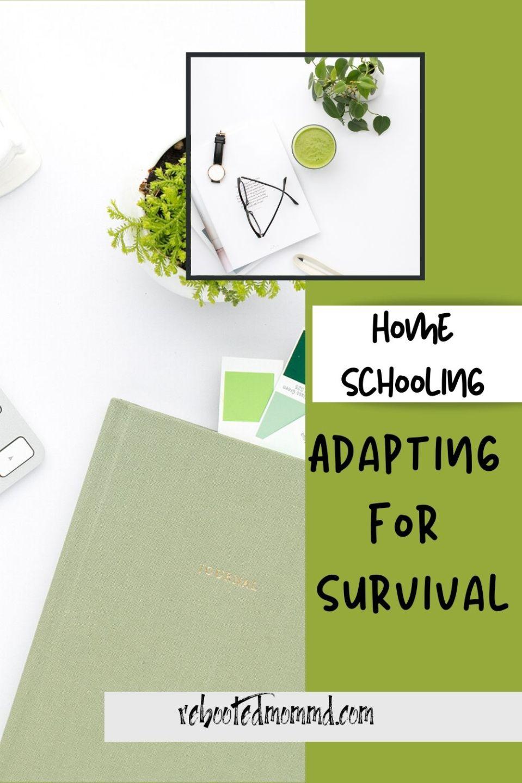 Homeschooling: Adapt to Survive