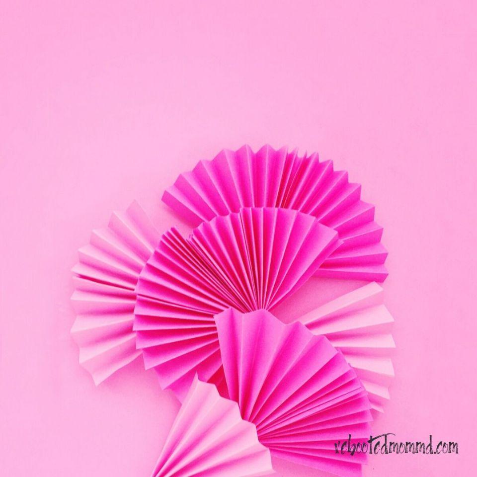 pink fan socialize