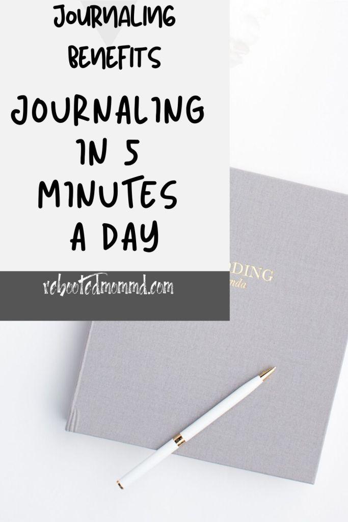 journaling 5 minutes
