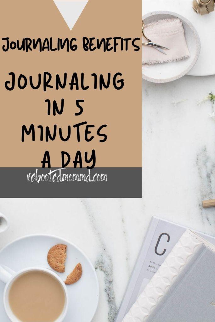 5 minutes journaling