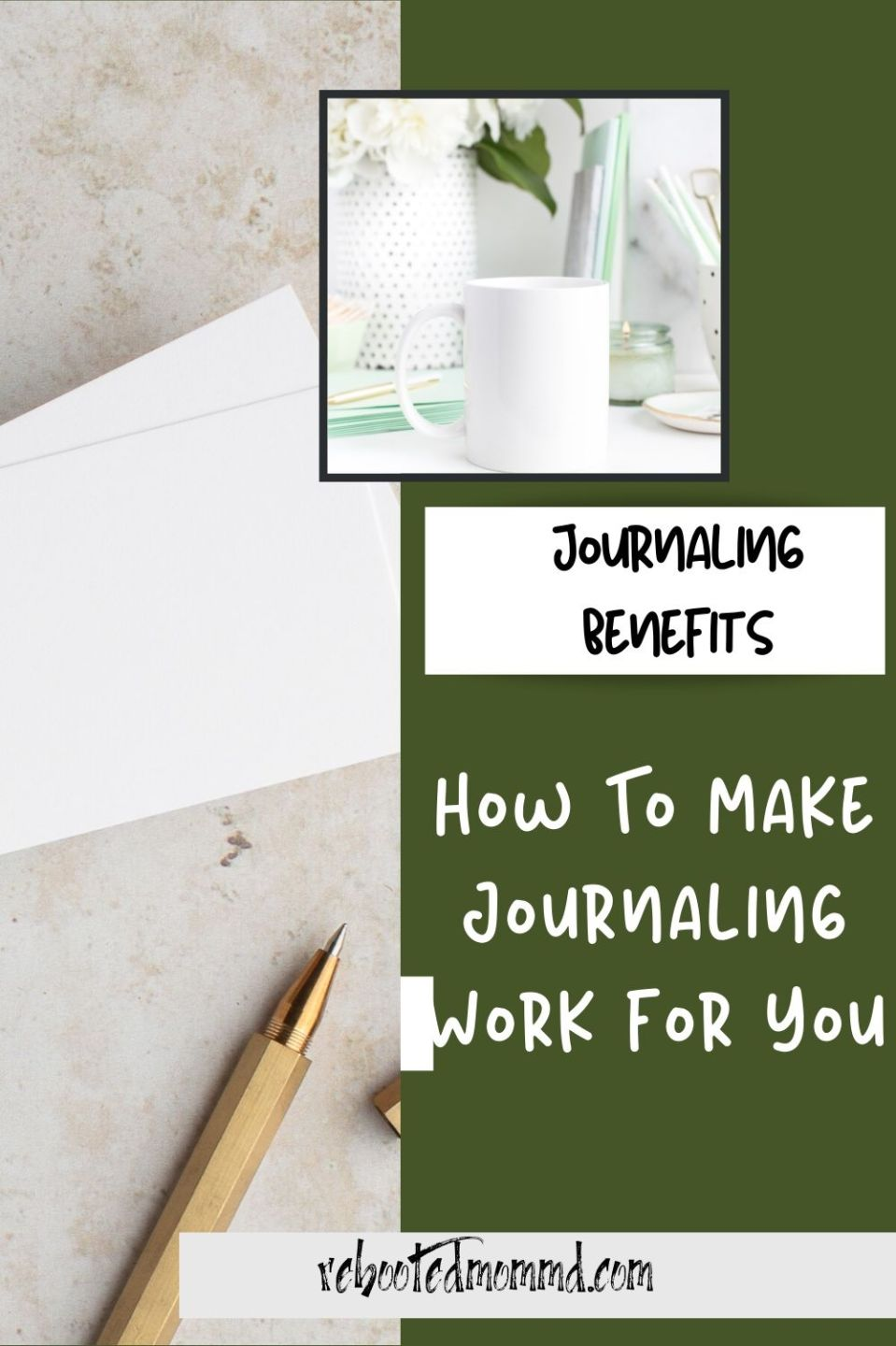 How to Make Journaling Work for You