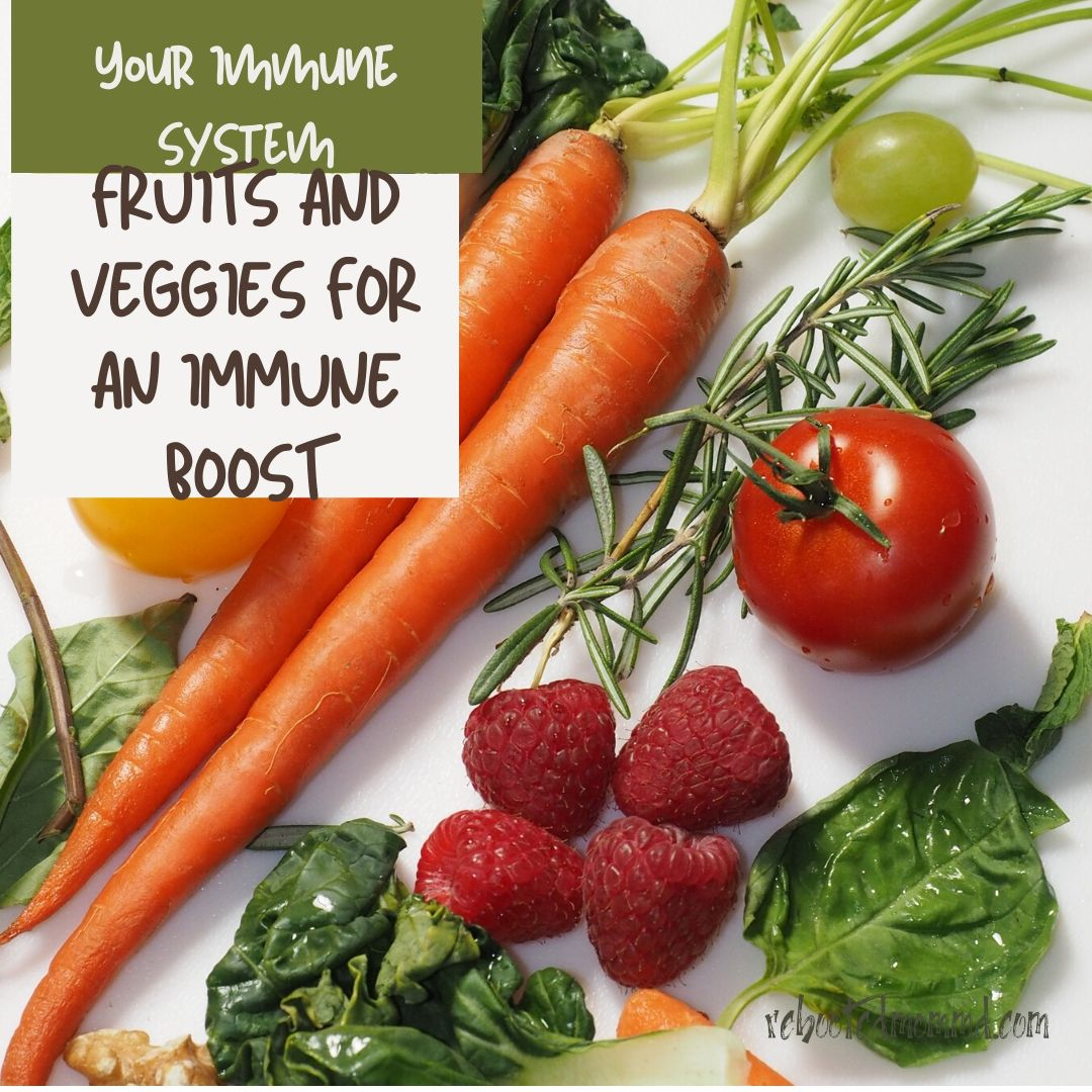 fruit and vegetables immune system