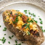 loaded stuffed potato