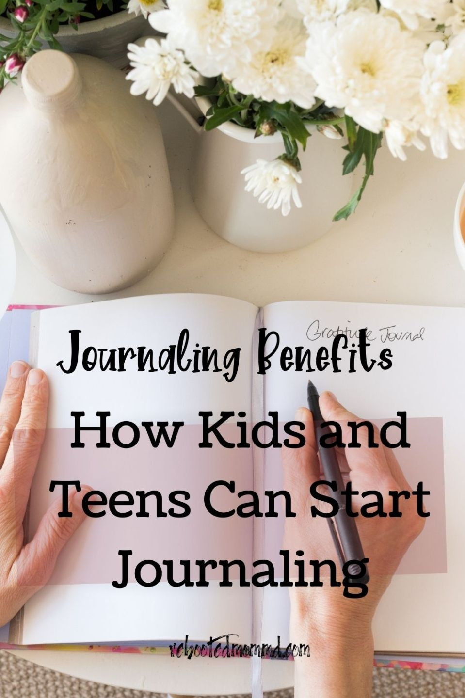 How Kids and Teens Can Start Journaling