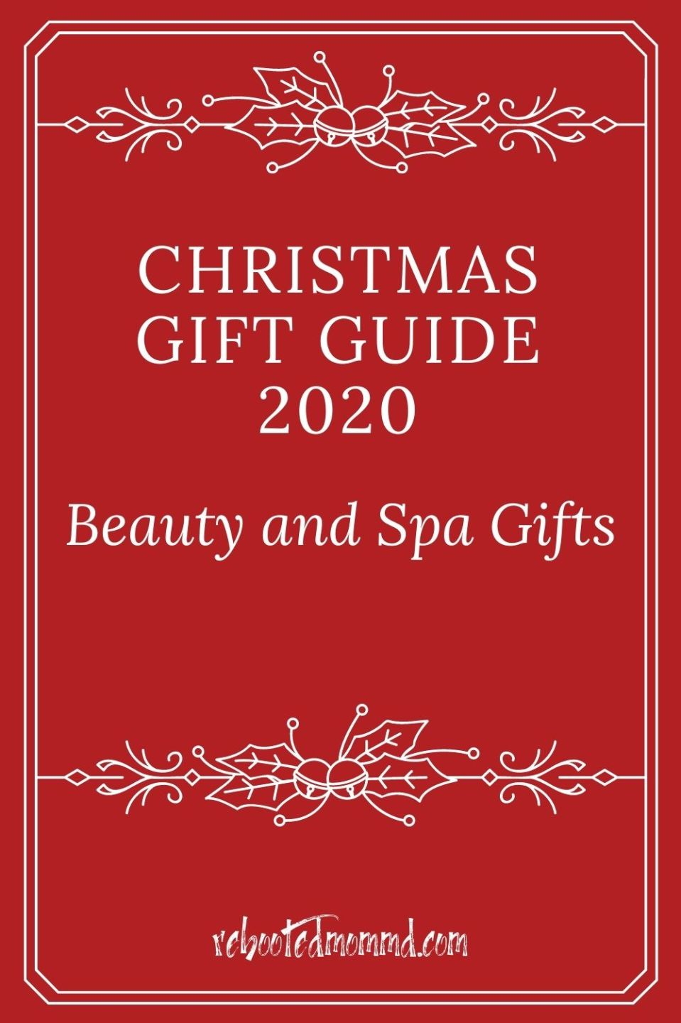 Christmas Gift Guide 2020: Beauty and Spa Gifts