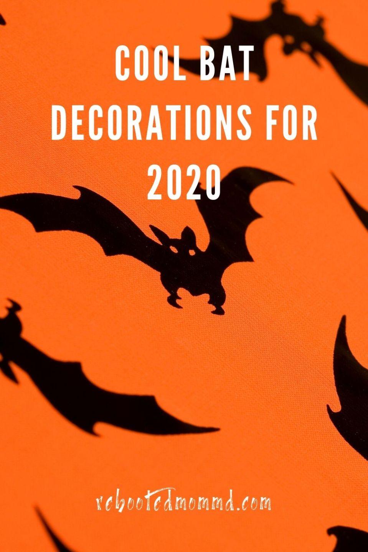 Halloween: Cool Bat Decorations for 2020