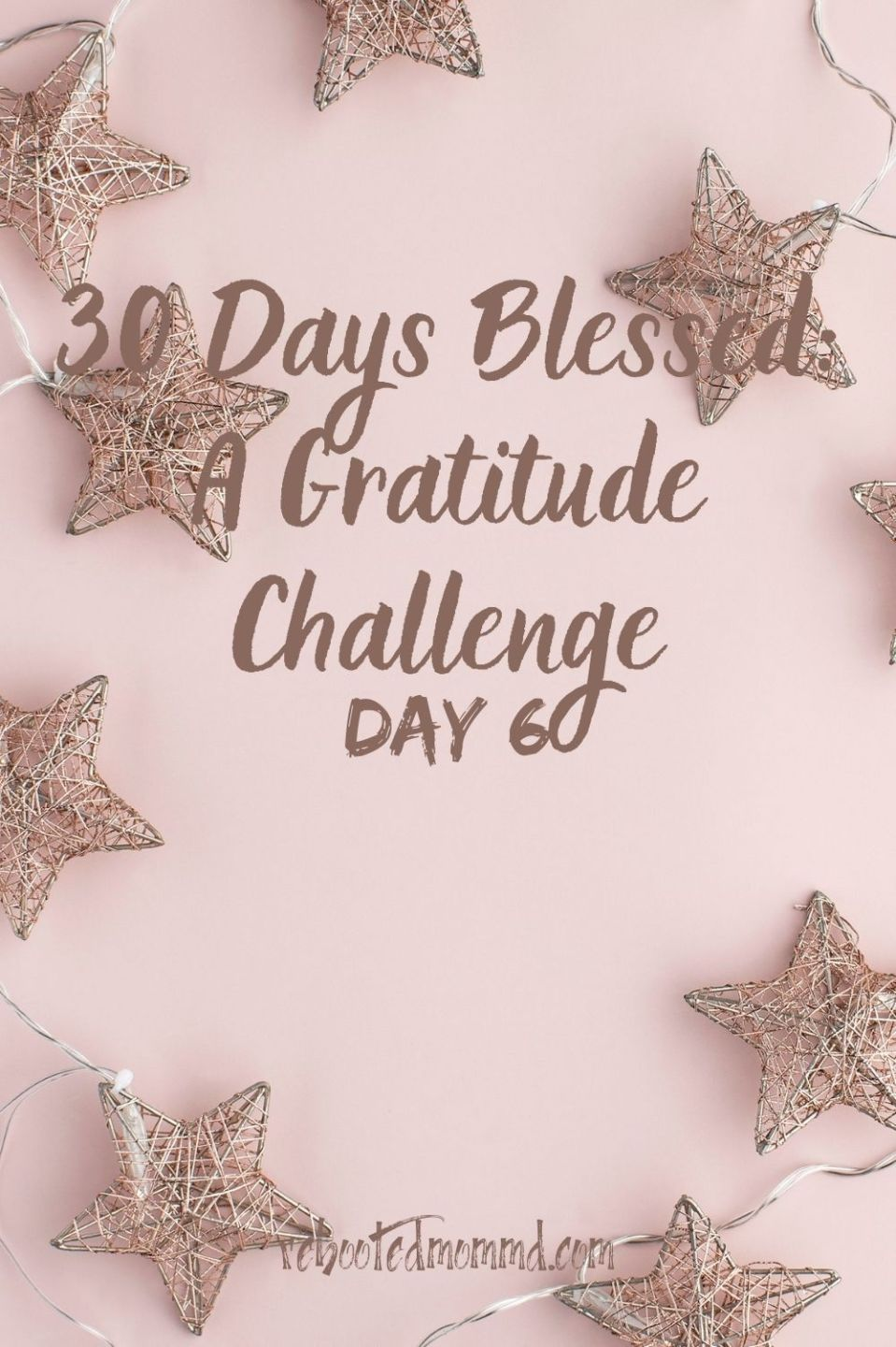 Day 6: Give Thanks for the Simple Pleasures