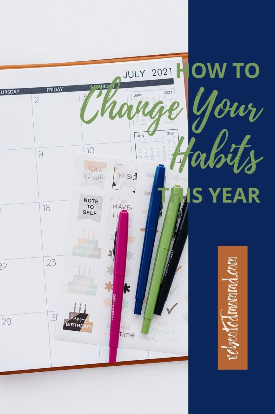 Change Your Behavior to Change Your Habits