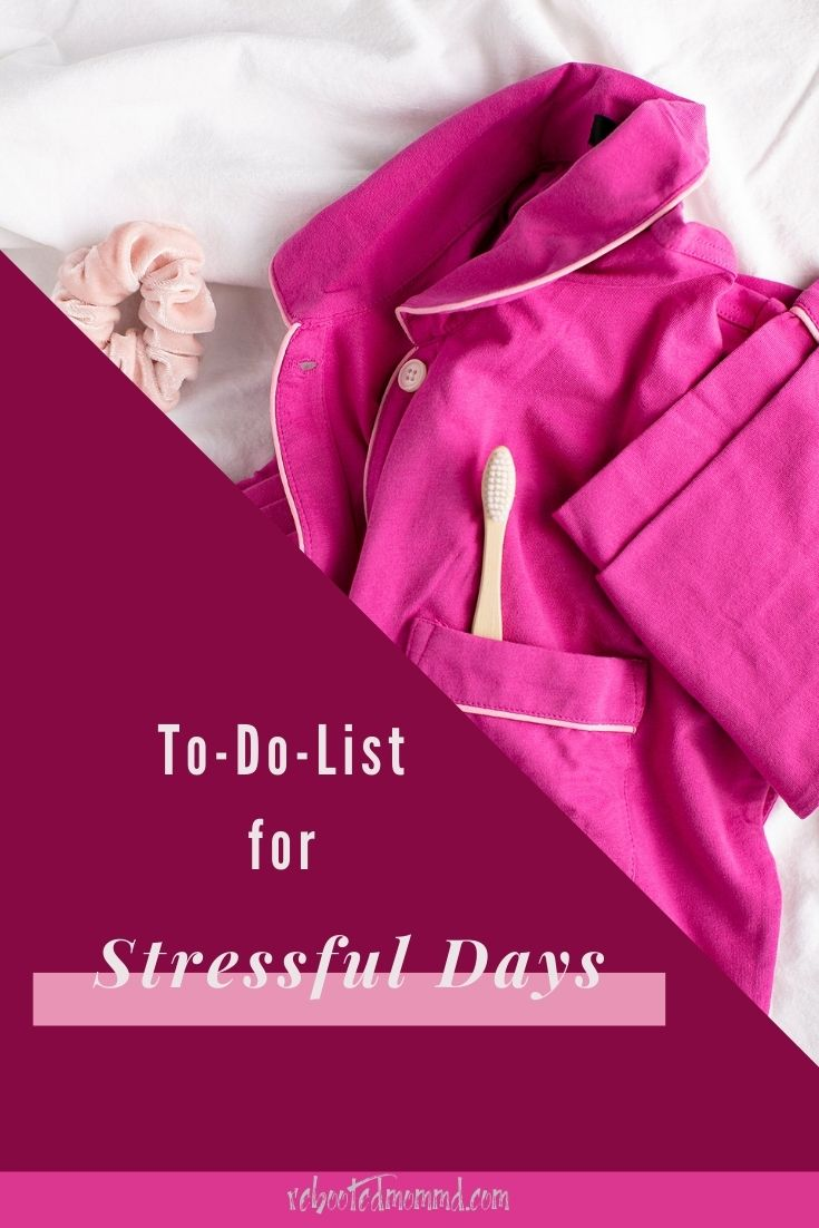 To-Do List for Stressful Days