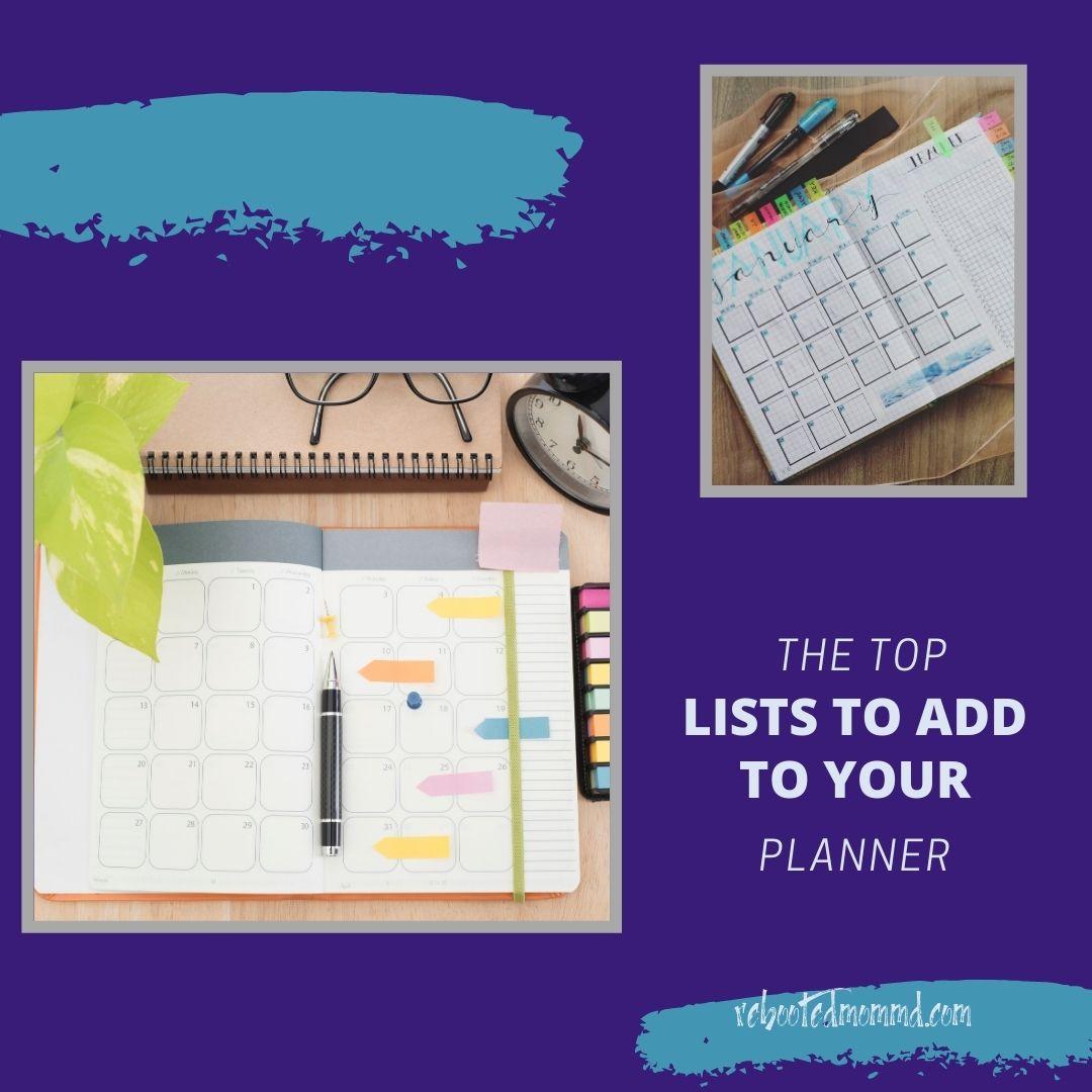planner list