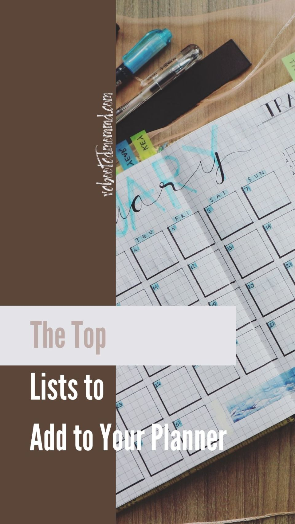 The Top Lists to Add to Your Planner