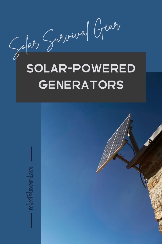 Solar-Powered Generators