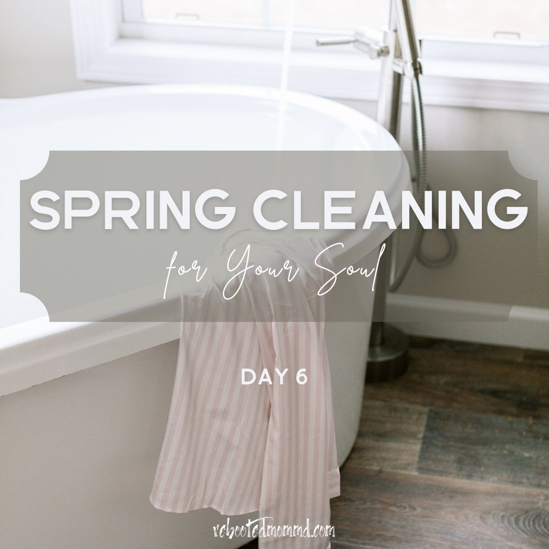 spring cleaning guilt