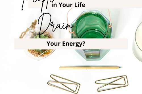 draining your energy