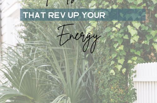 foods that rev up your energy