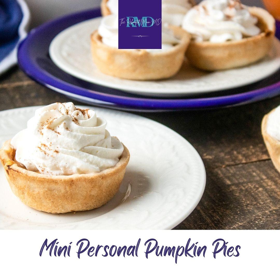 Mini Personal Pumpkin Pies