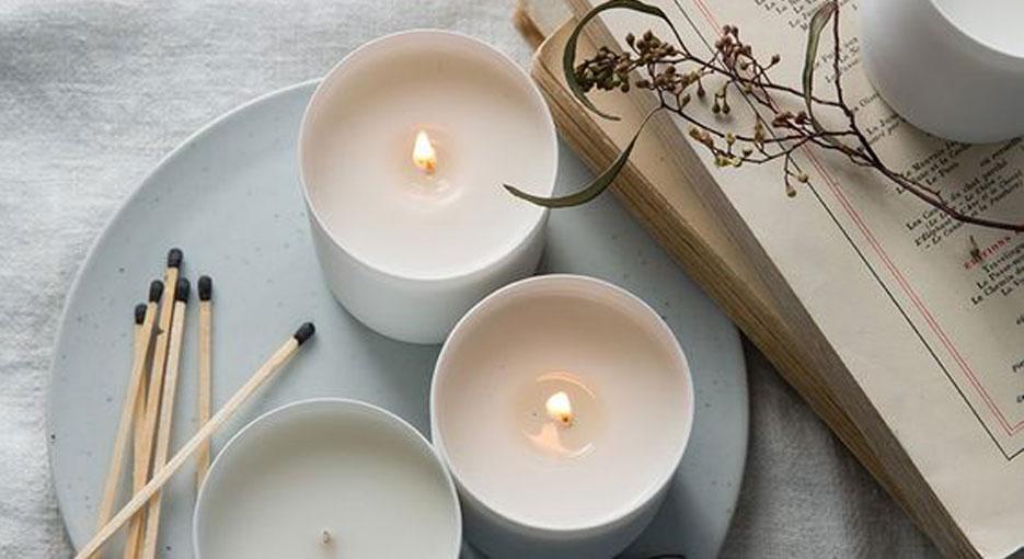 DIY chemical-safe candles