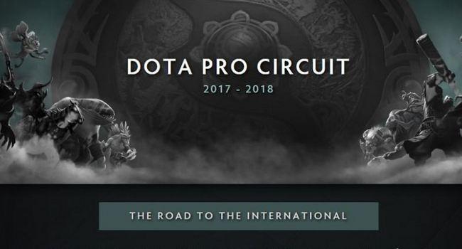 Dota2 Pro Circuit 2018