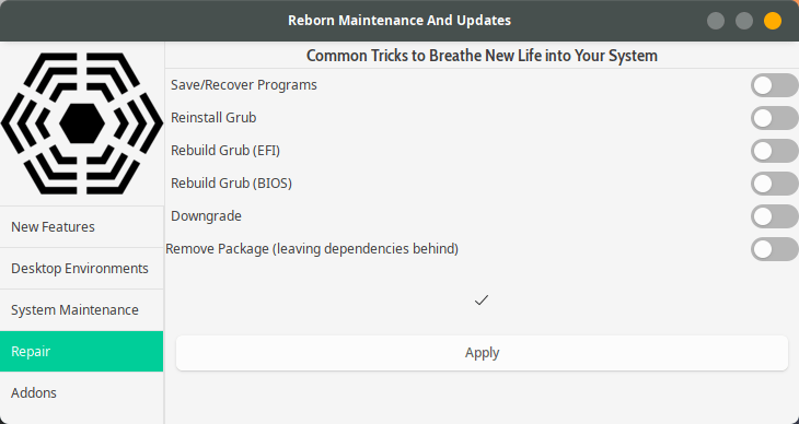 Reborn OS – Made for You – Made by You