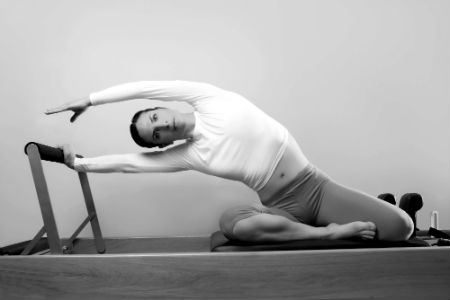 Elegant, flexible and fit from reformer pilates. Recover with this low impact exercise