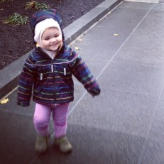 Balaclavas layer well under hoods and protect baby's neck from the cold!