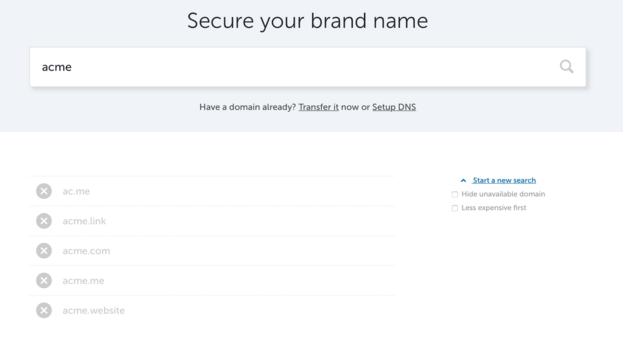 brand domain