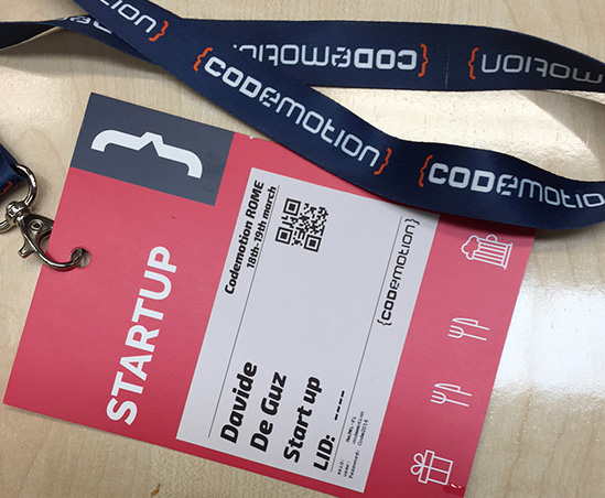 Codemotion Rome 2016