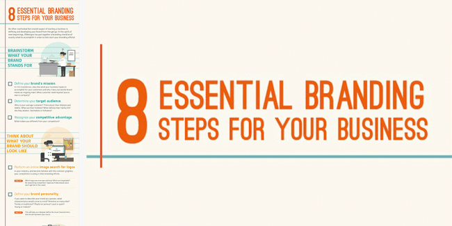 8 essential branding steps for your business