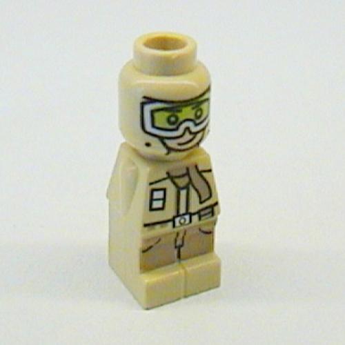 Lego Part 85863pr0093 Microfig Star Wars Rebel Trooper