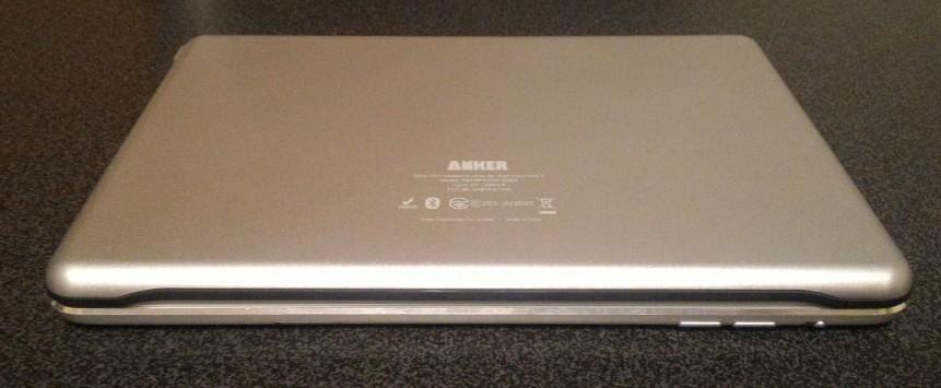 Anker Keybord CaseとiPad miniと合体