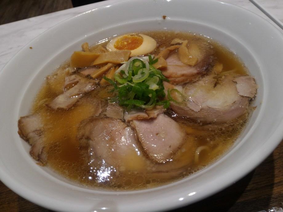 オリジンのチャーシュー麺