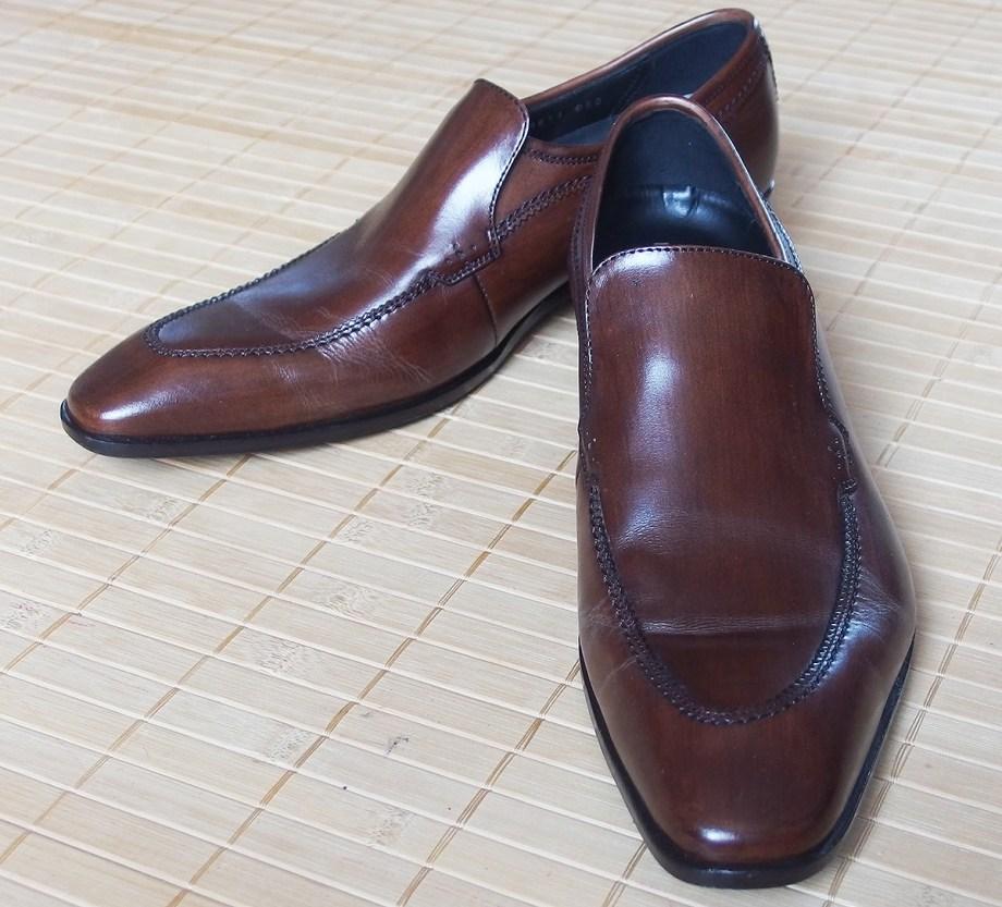 キャサリンハムネット 革靴
