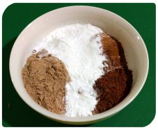Dry ingredients without coconut flour
