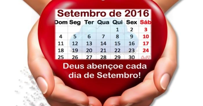 calendario de setembro