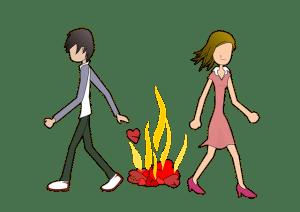 O drama dos reféns de um casamento desfeito
