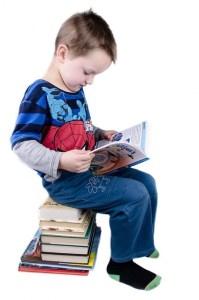 Criança aprendendo