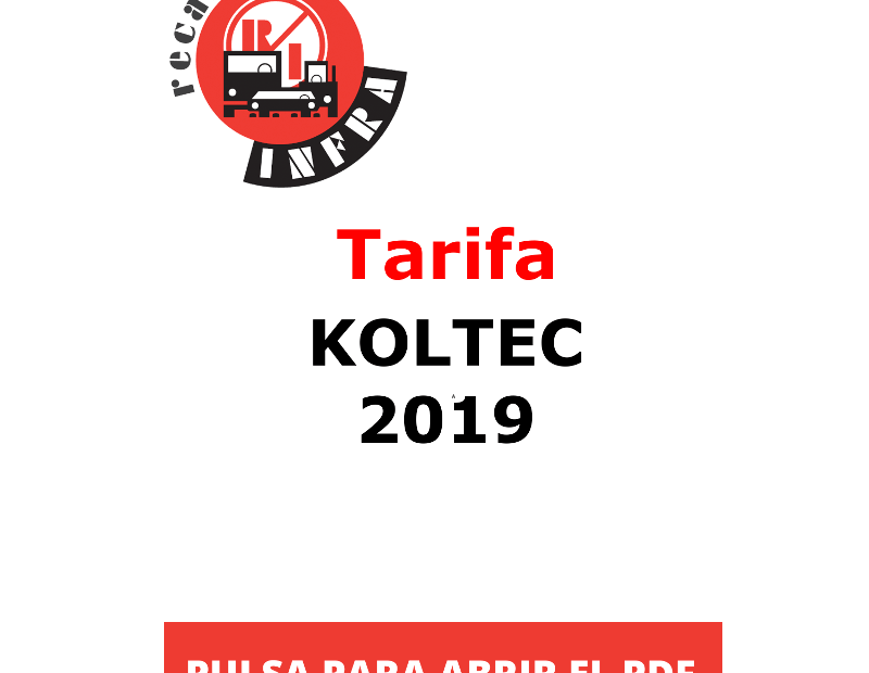 recambios-infra-KOLTEC 2019