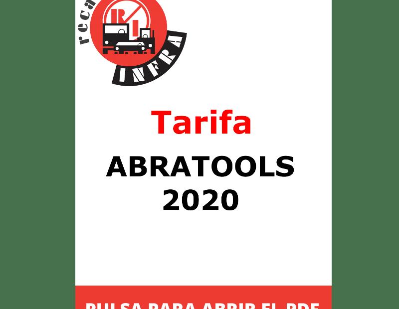 recambios-infra-TARIFA ABRATOOLS 2020
