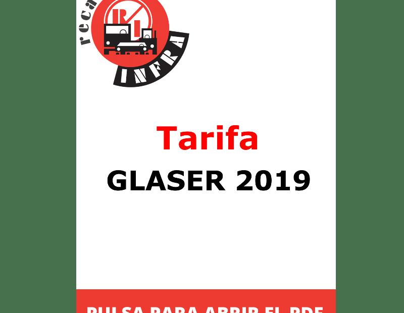 recambios-infra-Tarifa-GLASER-2019