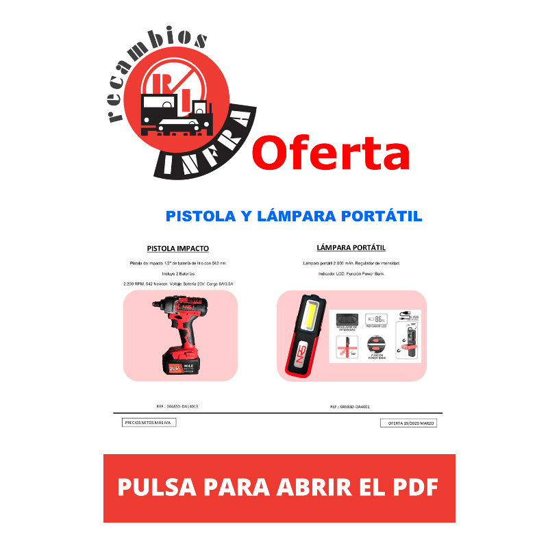 recambios-infra-PISTOLA-Y-LAMPARA-DAMA