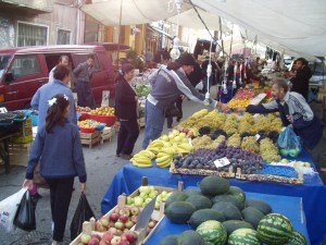 Mercadillo en Estambul