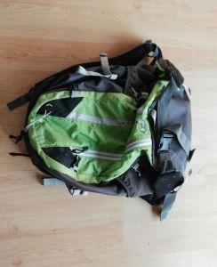 preparando la mochila