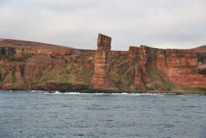 """El """"hombre viejo"""" en las Orkney Islands"""