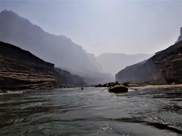 Rowing The Grand Canyon with No Hesitation