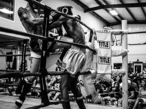 Boxers Embrace Pain