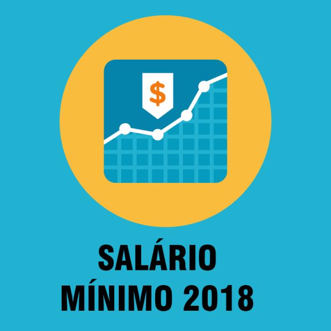 Novo Valor Salário mínimo 2018