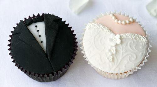Exemplo de Cupcakes para casamento