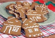 Receita de Biscoitos Decorados de Natal