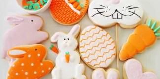 Receita de Biscoitos de Pascoa